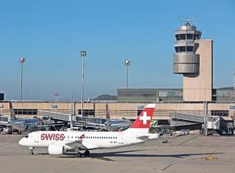 Parken Flughafen Zürich